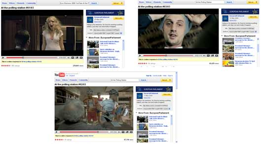 Информационната кампания на европарламента в YouTube