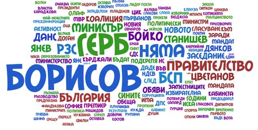Тагове от политическите новини в ЕММ през юли