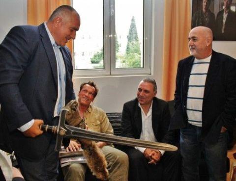 Бойко Борисов с меча на Конан